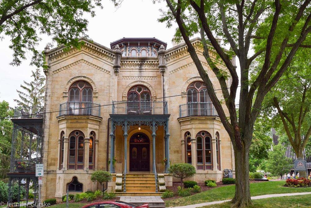 Madison Landmark | The Pierce House | 424 N. Pickney St. | 1857-1858