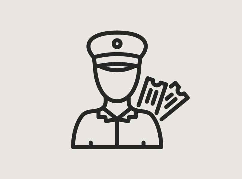 Fare inspector icon