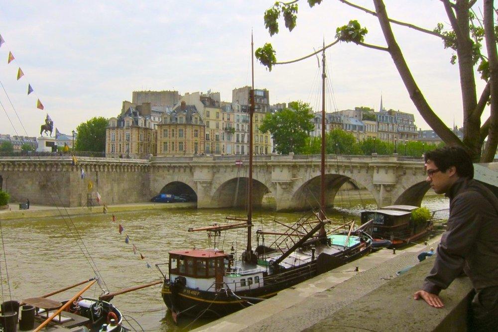 Mid-day in Paris