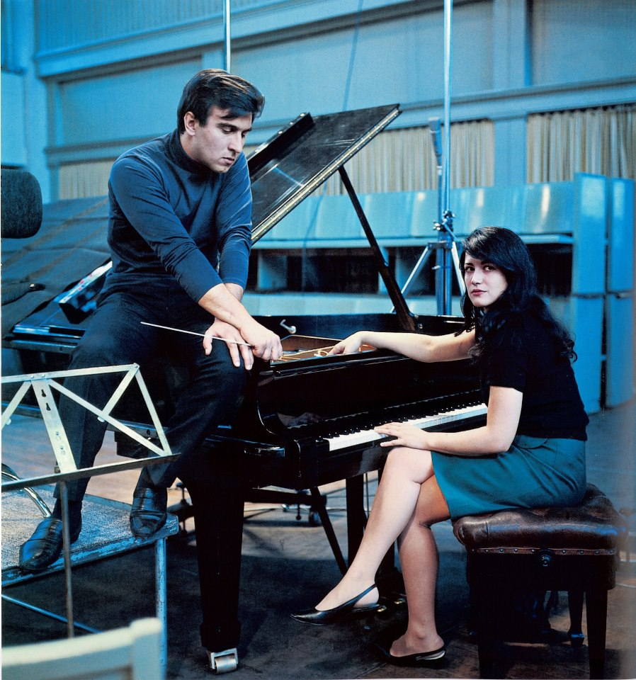 Argerich and Claudio Abbado in the 1960s