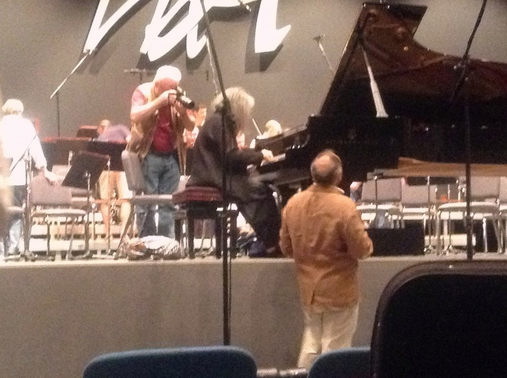 Beethoven Rehearsal at the Palace of the Congress