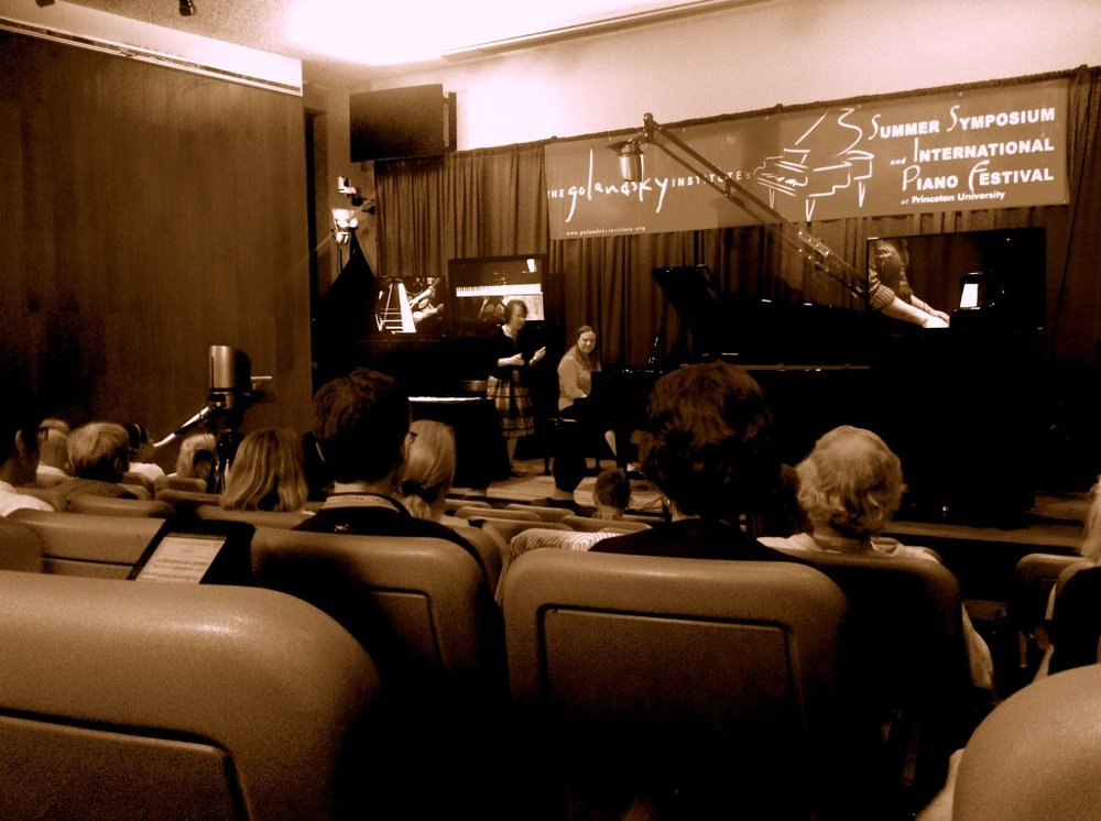 Edna Golandsky teaches a performance masterclass–to my surprise, she did address many musical concerns