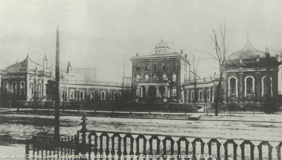 One of the earliest and largest palaces was built below 9th street. It was quickly demolished and replaced with shops.