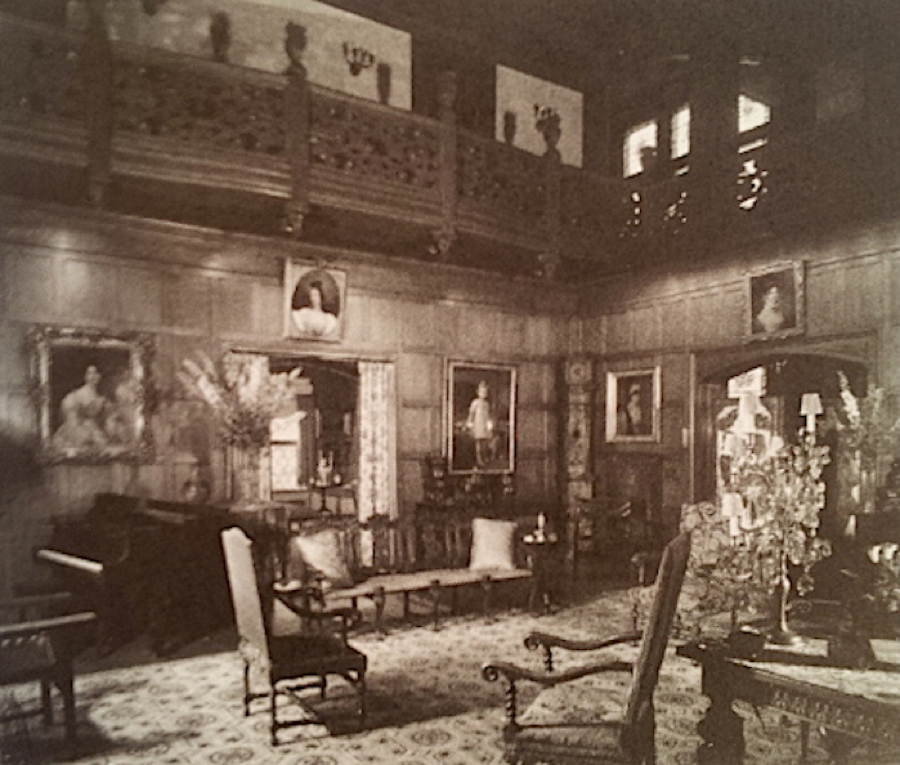 The Eels mansion had opulent interiors and was host to six U.S. Presidents.