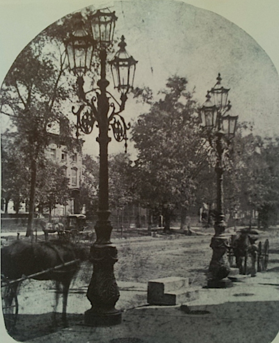 In the 1800s, the street was lit with romantic gas lamps, before avenue resident Charles Brush invented the arc lamp, the earliest form of street lamp in America.