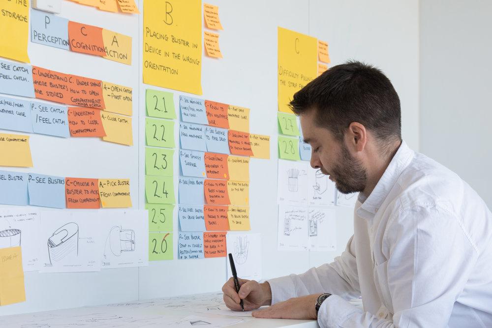 PCA analysis to identify areas to enhance usability