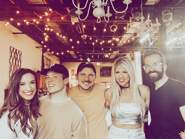 Got to work with these beautiful creative souls today and chase the magic on film ✨. So grateful for the vision, effort, and love they put into our music today!  New songs a comin on 3/1 💚#donttell #nopleasedotellthatsjustthenameofthesong . . . . . . . . . . . . @patryklarney @jeremyryan @tan_hall_  #duo #newmusic #bestfriends #lovethesepeople #countrymusic #spacecowboy #silver #fringe