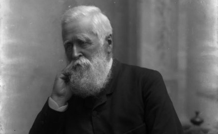 Portrait of Sir William Fox in the 1890s (Alexander Turnbill Library)