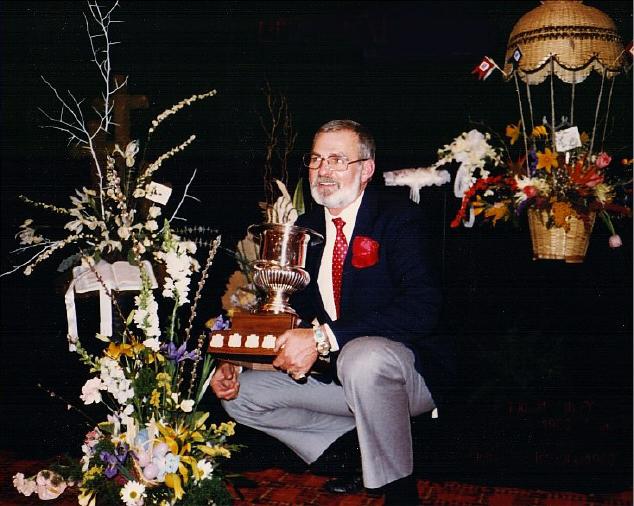 Bill, Florist of the Year, Teleflora (1980-1981)