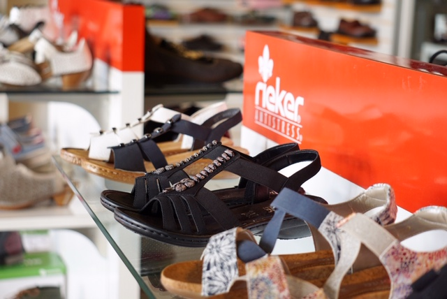 $10 OFF RIEKER - Take $10 off every pair of regular priced Rieker shoes or sandals purchased! Best selection ever, in a fabulous array of colors and styles with fun embellishments and unique materials. For work or play, dress or sport, travel or leisure…footwear for every day of your life.