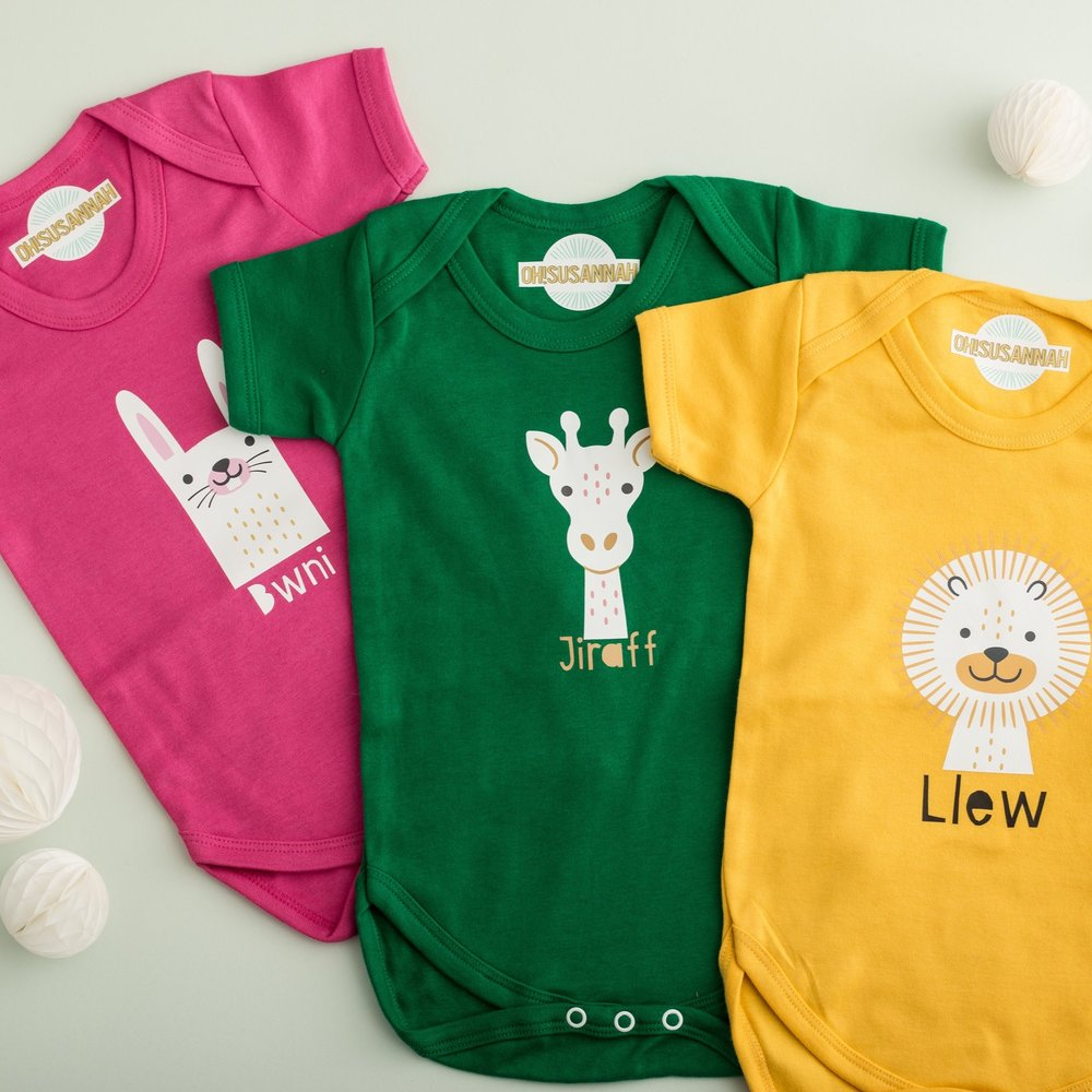 Baby grows, great new bilingual baby gifts. -