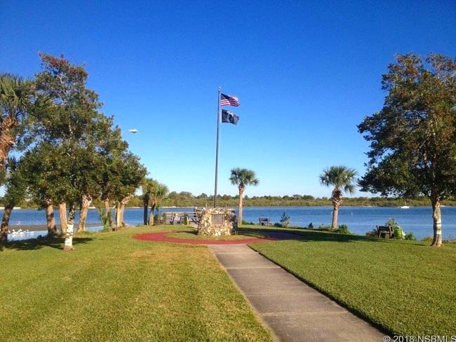 Veteran's Memorial Park in Edgewater, FL