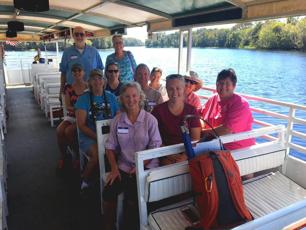 Save Our Rivers and Springs Academy, Class 1 - St. John's River Boat Tour