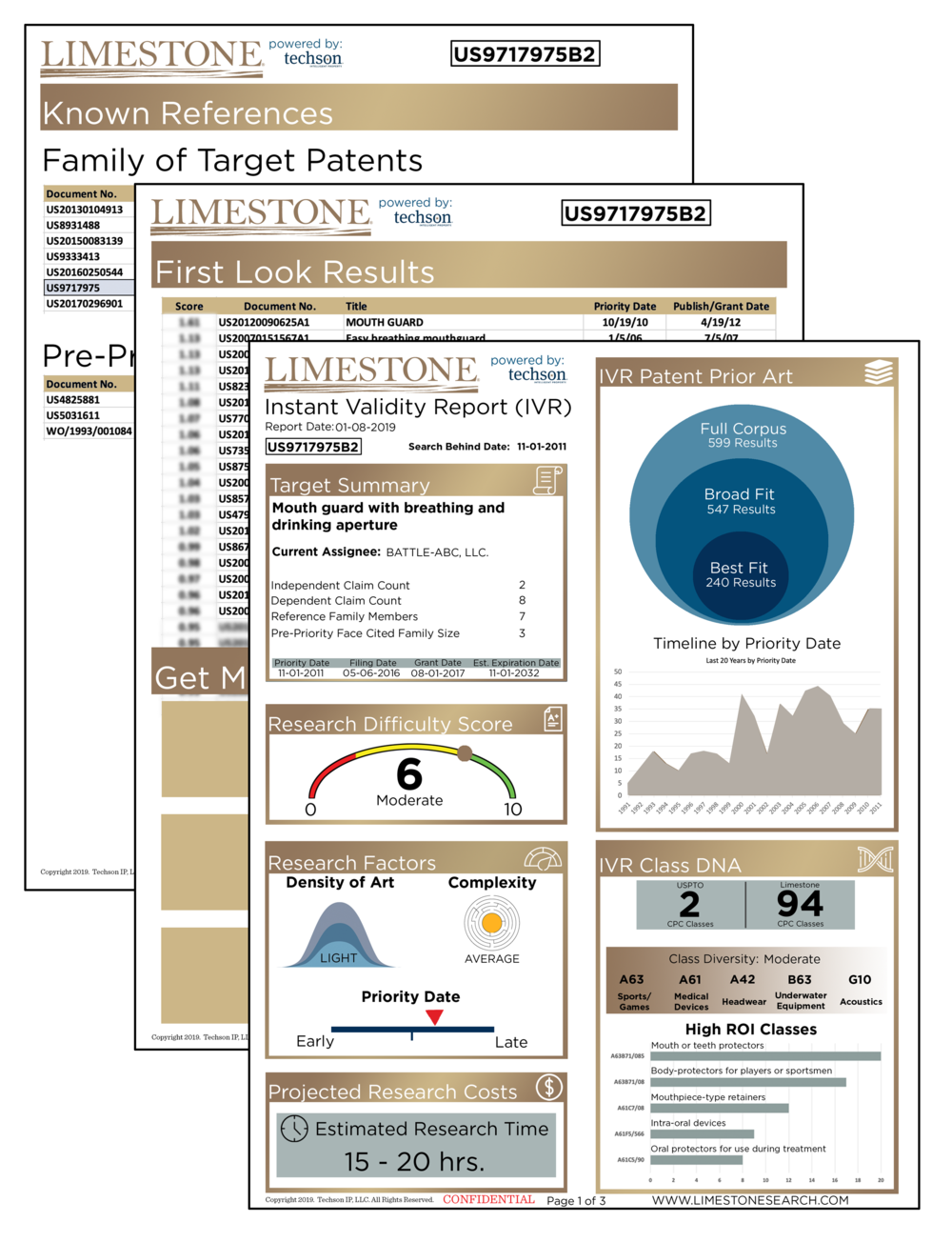 Limestone EnabledReports - Limestone Enabled Reports allow you to understand the scope of art ahead of you and get right into references that matter. Your first report is free!