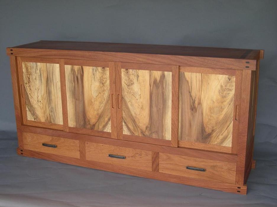 tansu style sideboard -