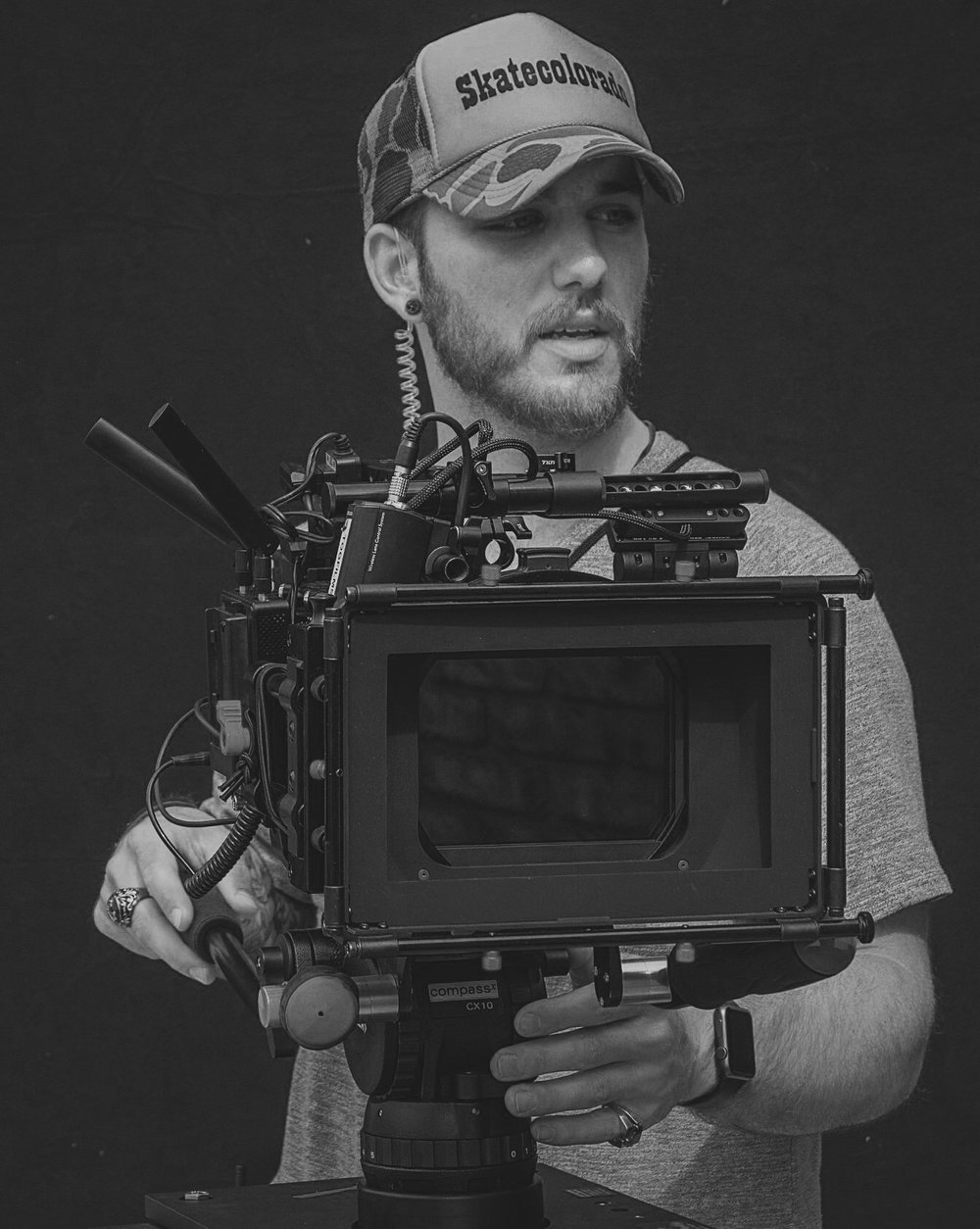 Director of Photography-Nick Bruso - Nick was born and raised in Littleton, Colorado. Nick grew up always having a camera in his hand. He had a passion and love to film his friends and family. This love for documenting turned into his passion for film making. Nick's first full length film took 3 years to make. He wrote, directed, filmed, and edited the film called