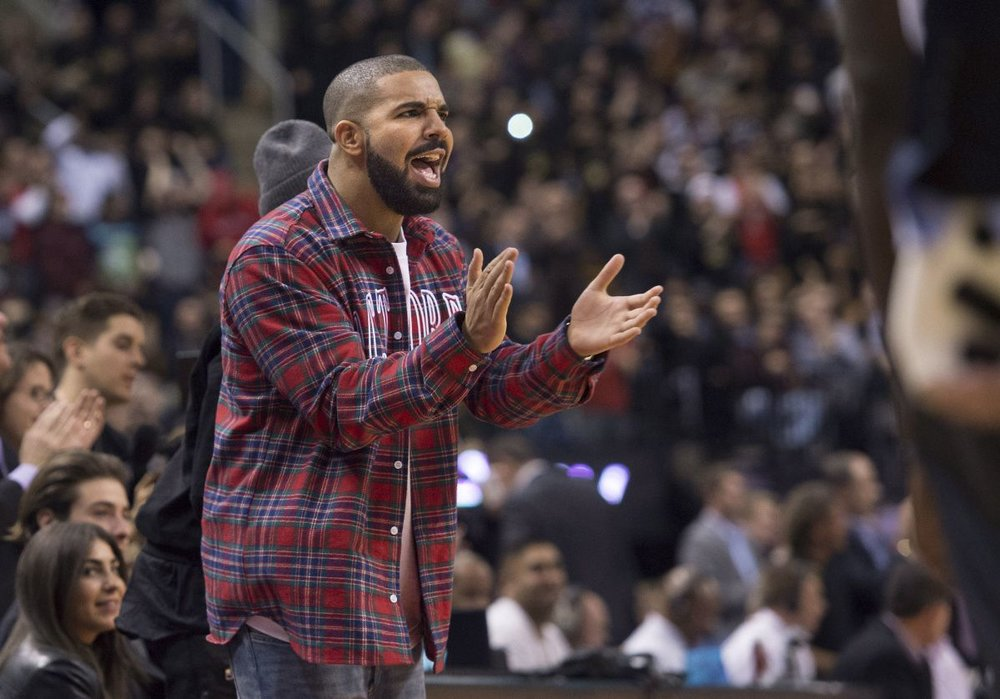 Toronto-born Drake is the Toronto Raptors Global Ambassador (image cred: The Toronto Star)