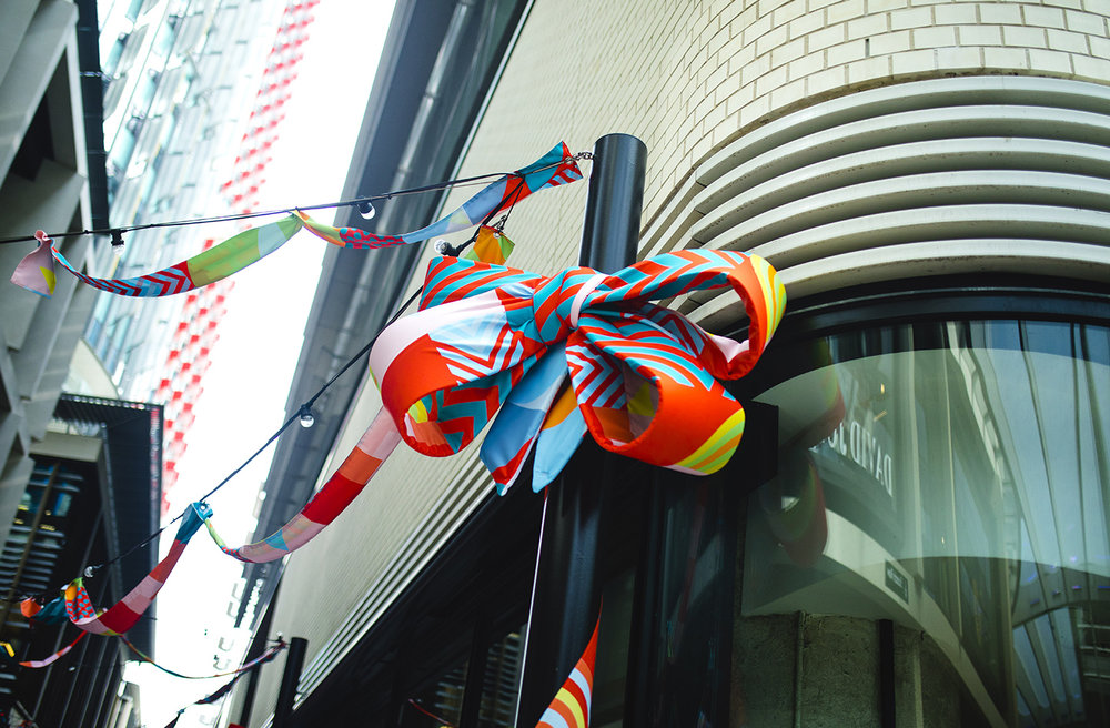 Textile Sculptural Installation Artwork