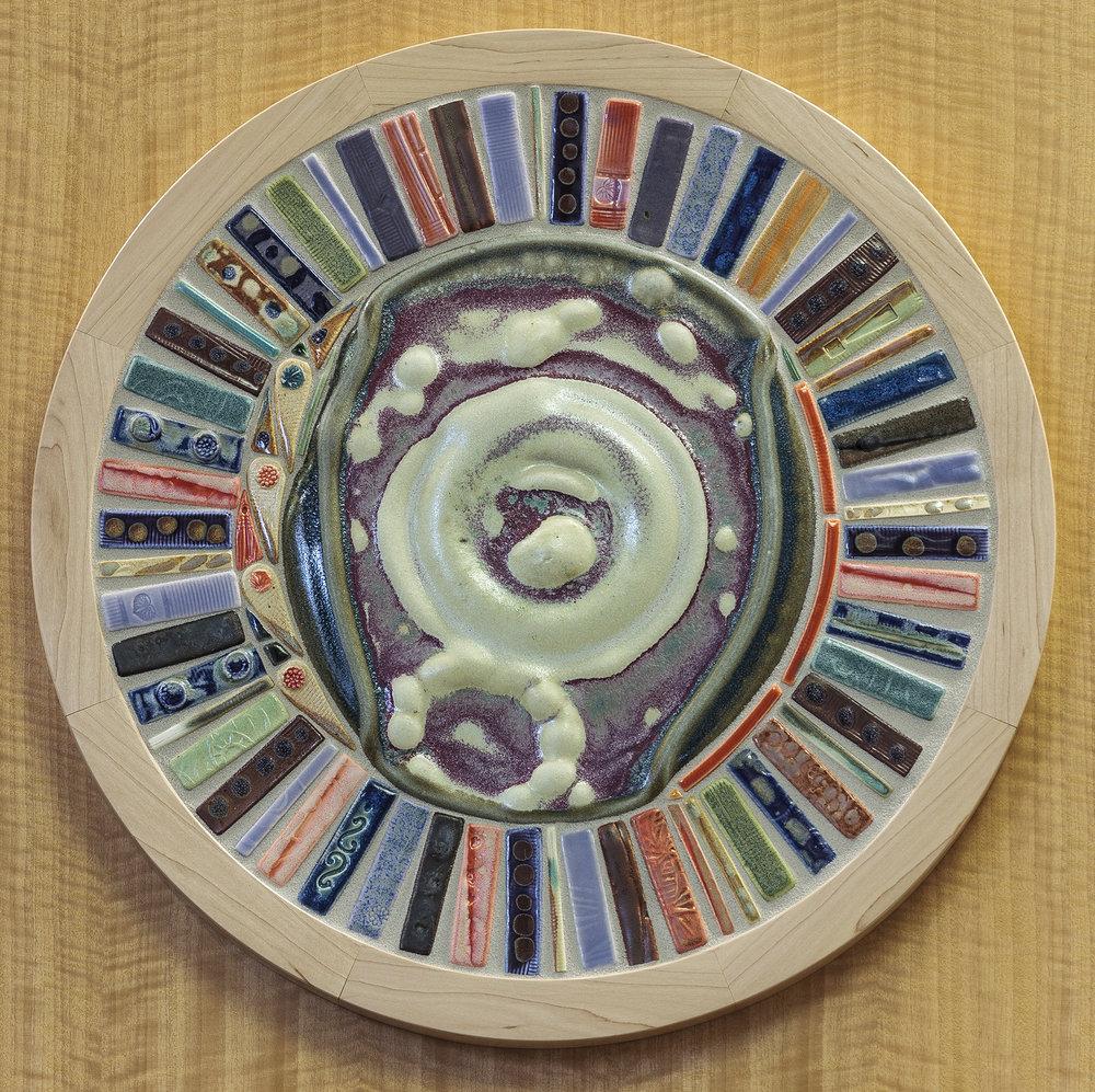 "Mandala, 27"" diameter"