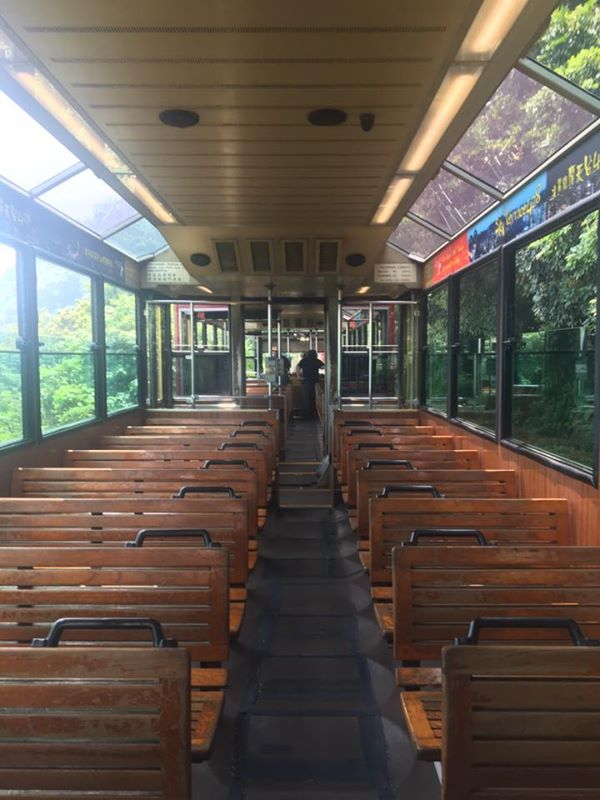 The Peak Tram on a private tour of Hong Kong