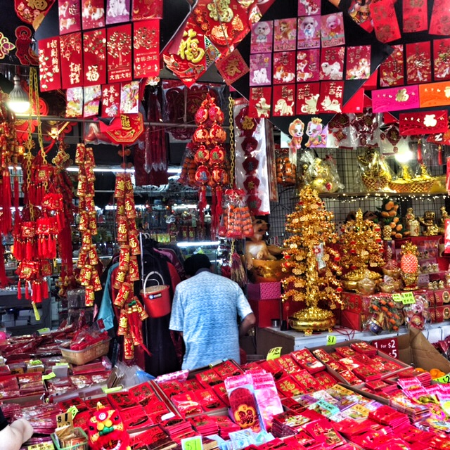 Buy your red and gold for Chinese New Year