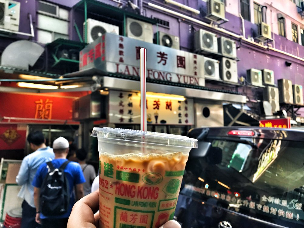 thirst quencher on a hong kong street food tour