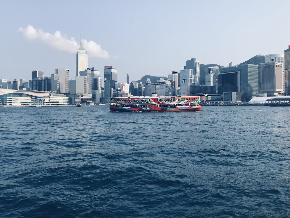 Take the Star Ferry and shoot your iconic moment on your tours in Hong Kong!