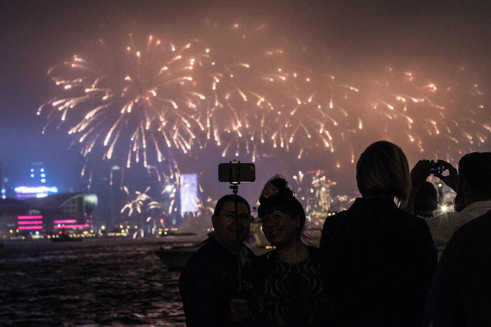reviews of hong kong new years eve harbour cruise