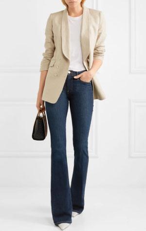 FRAME Le High Flared Jeans £235