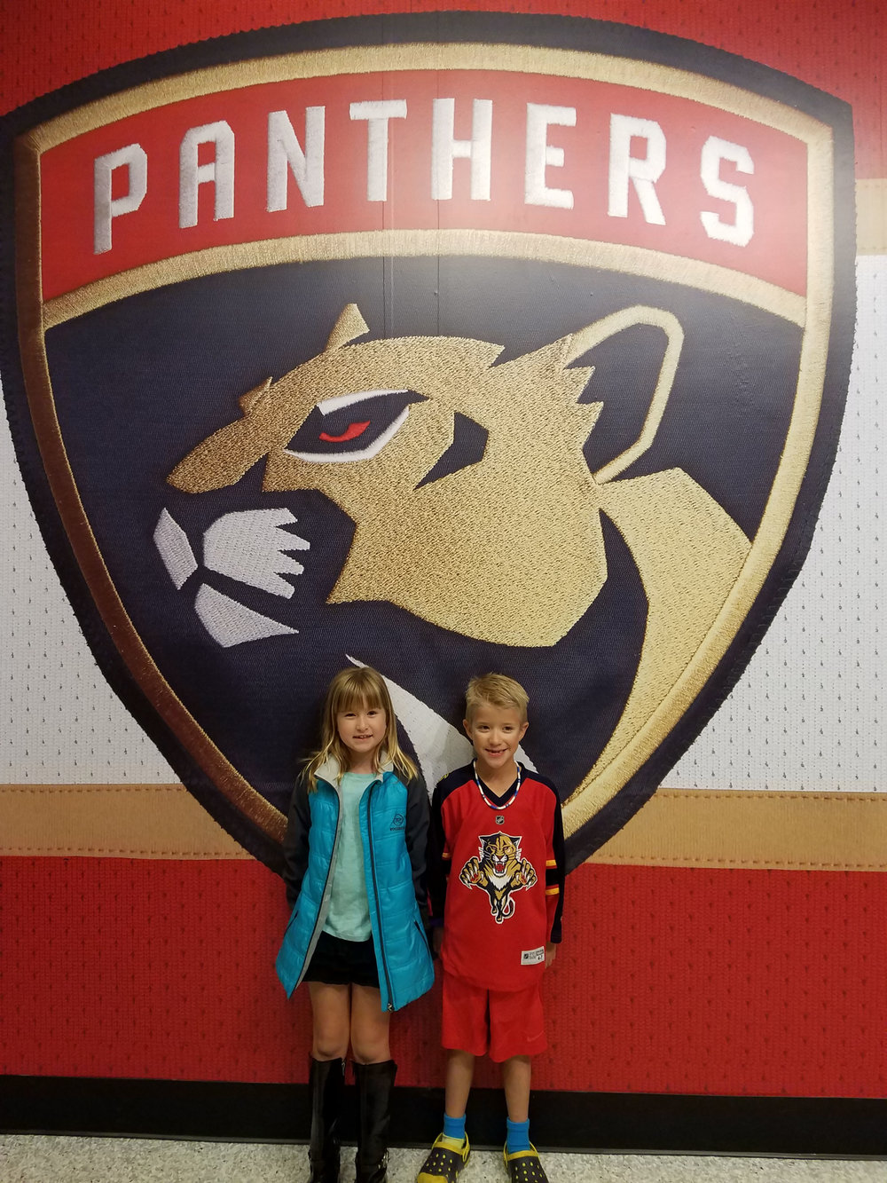 Mommy and Kid Travel - Florida Panthers Game #1