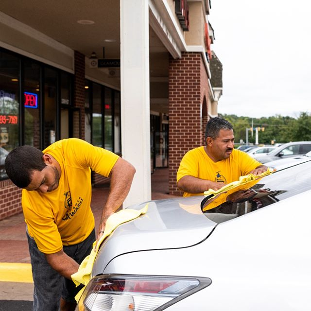 We employ car wash magicians, ensuring the perfect sparkle.