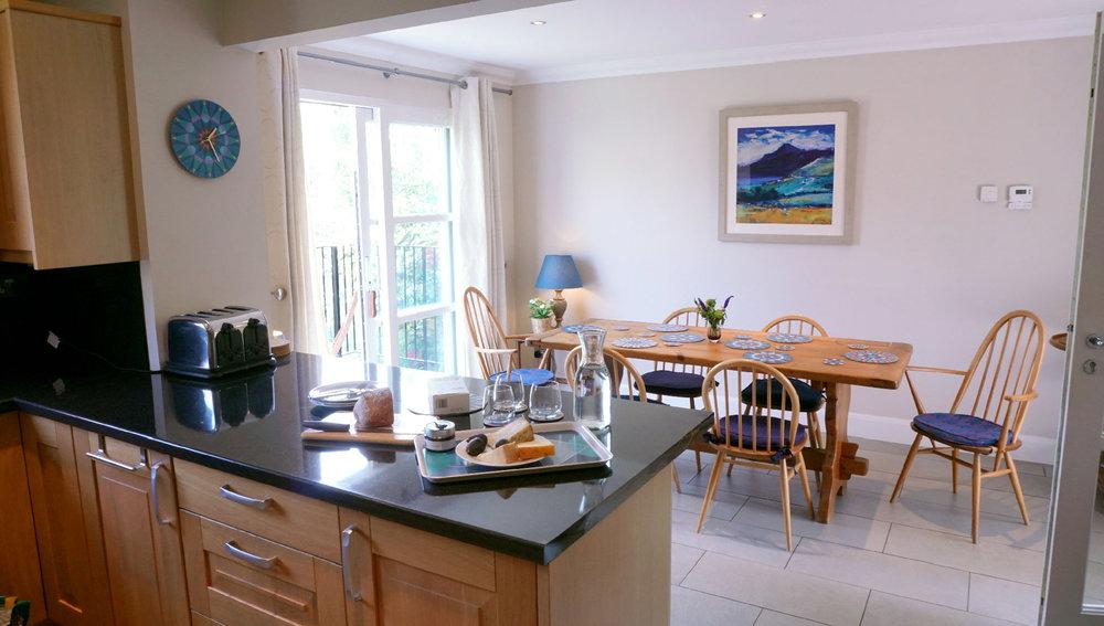 Light-filled kitchen-diner