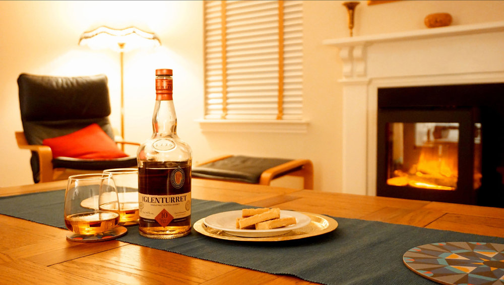 Hunker down and try the local whisky from Scotland's oldest distillery