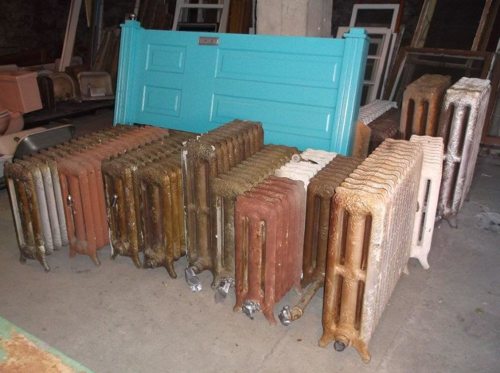 salvage sales - Sales of salvaged architectural features are typically held from April to September or October.
