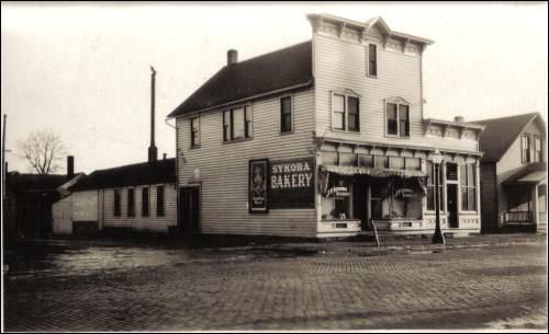 Sykora Bakery - originally C.K. Kosek Bakerycirca 1912