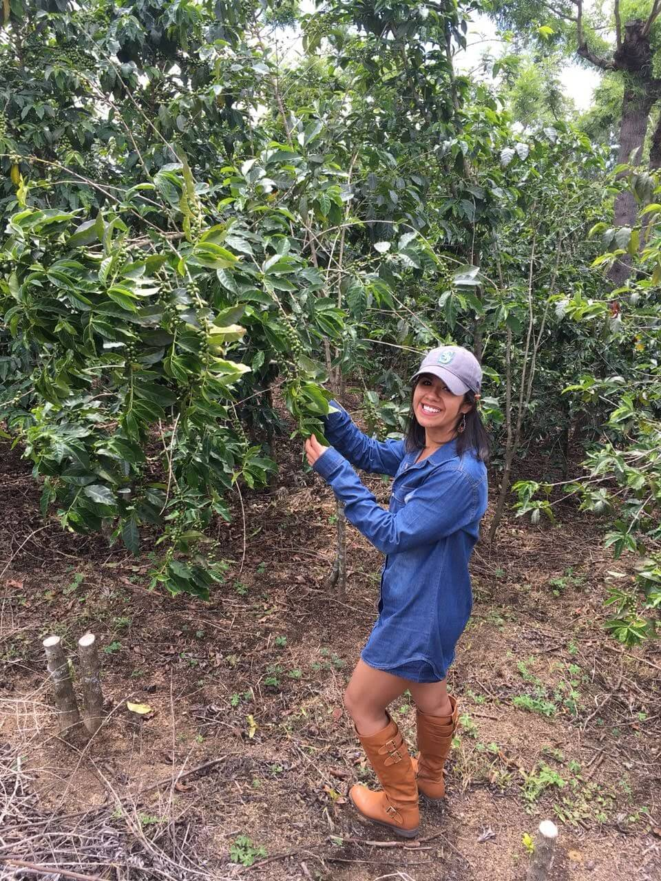 Melanie Herrera - Melanie discovered the agricultural world at ENCA (National Agricultural School), which guided her to Zamorano University, and then to the beautiful world of coffee. She started working at Bella Vista mill in Guatemala in 2012 (where she currently works). There she has learned from production to marketing coffee. In this path she has learned and continues to learn more each day. She currently wears many hats at Bella Vista: Sales of green coffee, Customer relationship management, small producers chain, and quality control assistant.
