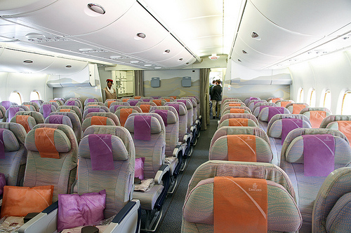 Emirates Airlines Airbus A380 Economy Class Girl Around The World