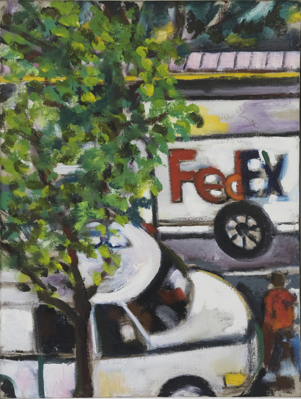 Fed Ex 2010 24x18 Oil