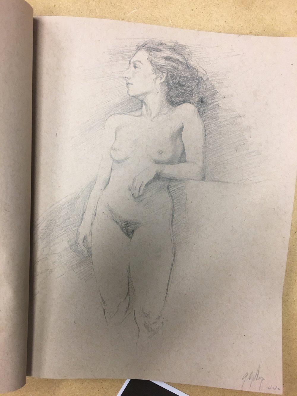 Drawing: Justin Balleza