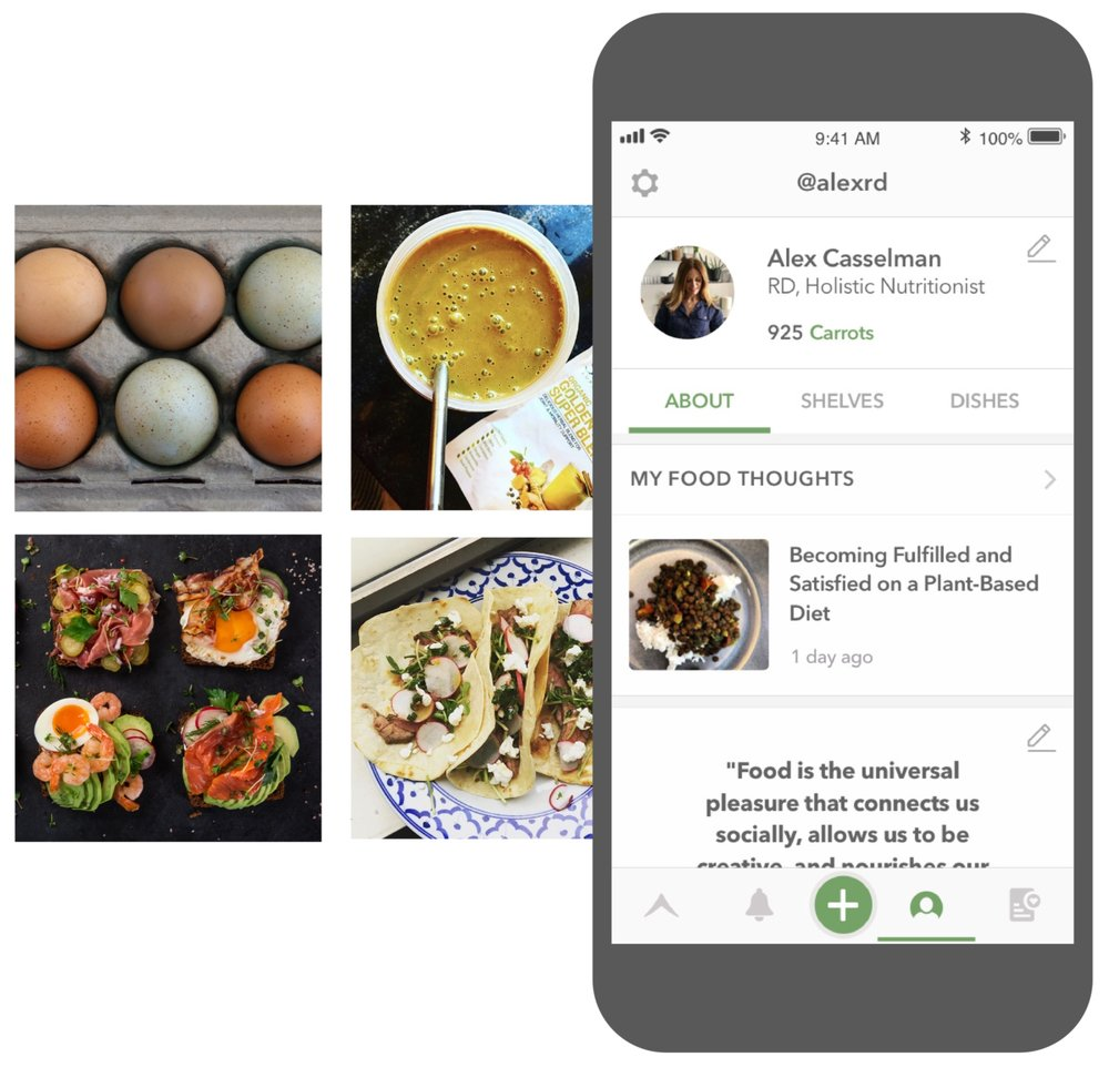 Connect - with makers and eaters to learn and share about food.