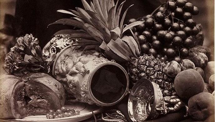 - Still Life with Ivory Tankard and Fruit, 1860, Roger Fenton, The Royal Photographic Society Collection © National Media Museum, Bradford.