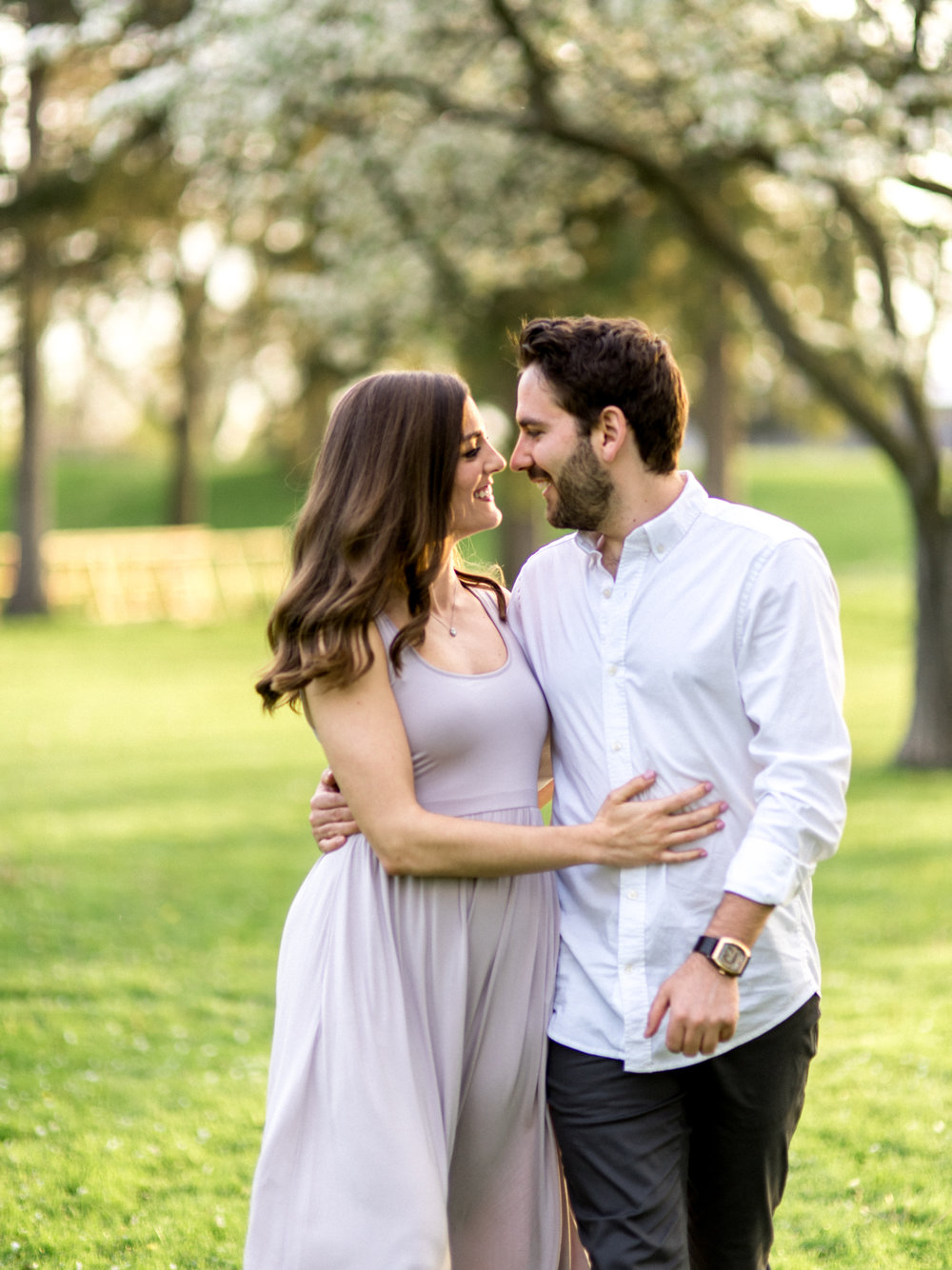 Chris & Heather's Engagement Session in Vineland Ontario Spring Blossoms Trees by Hush Hush Photography & Film Aidan Hennebry - 22.jpg