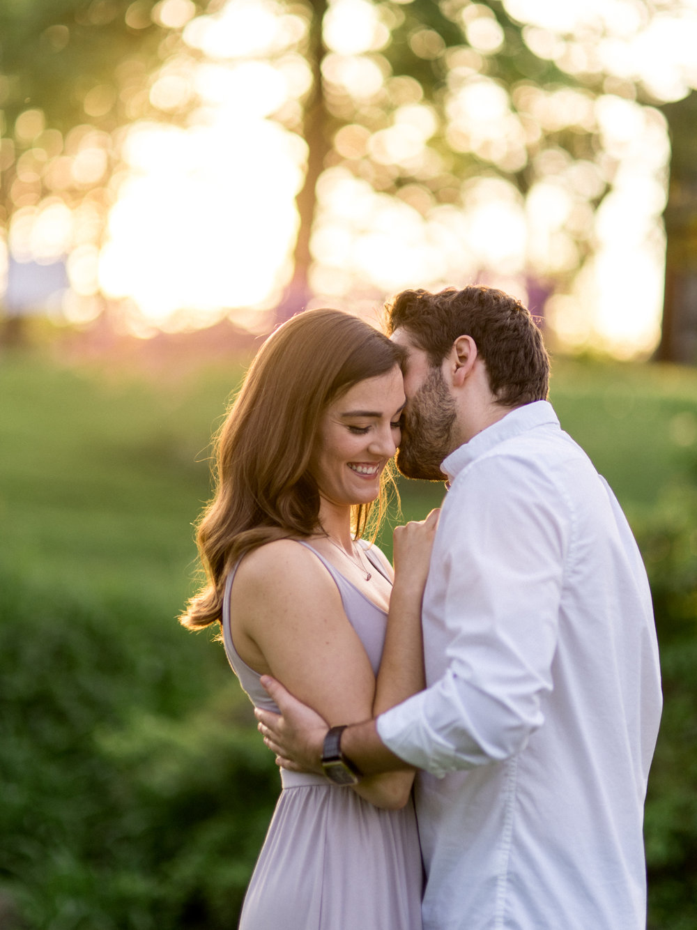 Chris & Heather's Engagement Session in Vineland Ontario Spring Blossoms Trees by Hush Hush Photography & Film Aidan Hennebry - 27.jpg