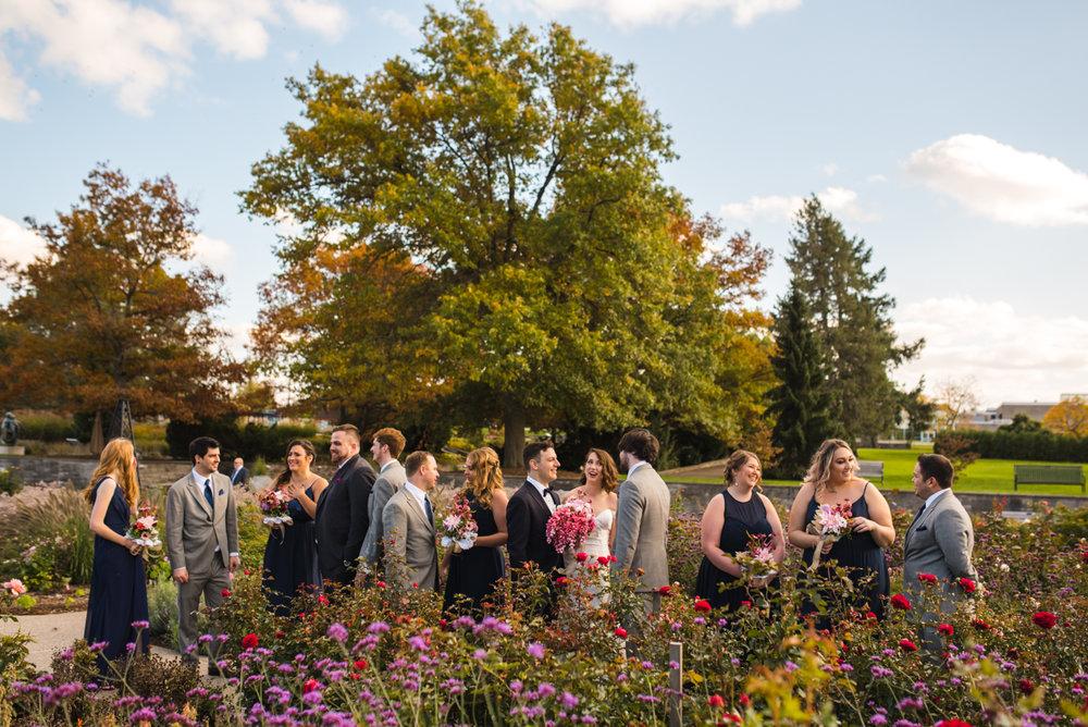 Mike & Allison's Downtown Hamilton RBG Royal Botanical Gardens Wedding Fall Burlington Aidan Hennebry Hush Hush Photography & Film-15.jpg