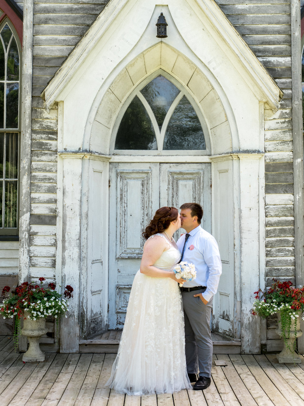 Chris & Carrie's Cranberry Creek Simcoe Port Dover Wedding Church Outdoor Summer Bright Hamilton Wedding Photography Niagara Aidan Hennebry Hush Hush Photography & Film-11.jpg