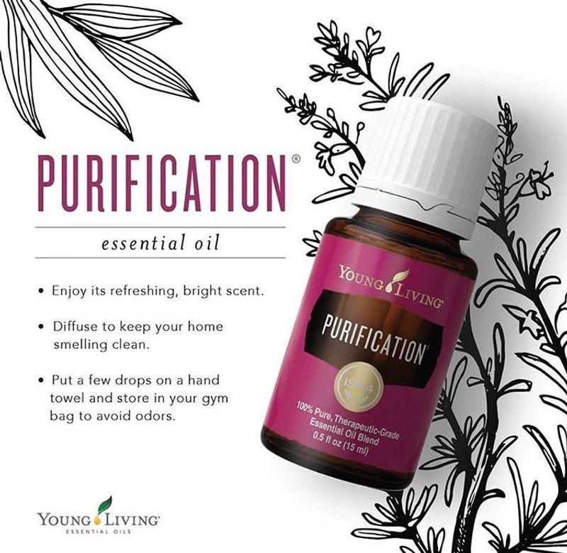 Purification essential oil