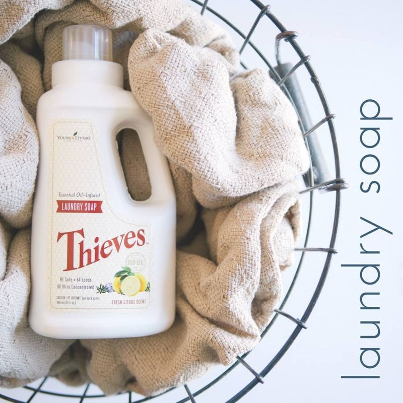 Chemical Free Laundry Soap Young Living