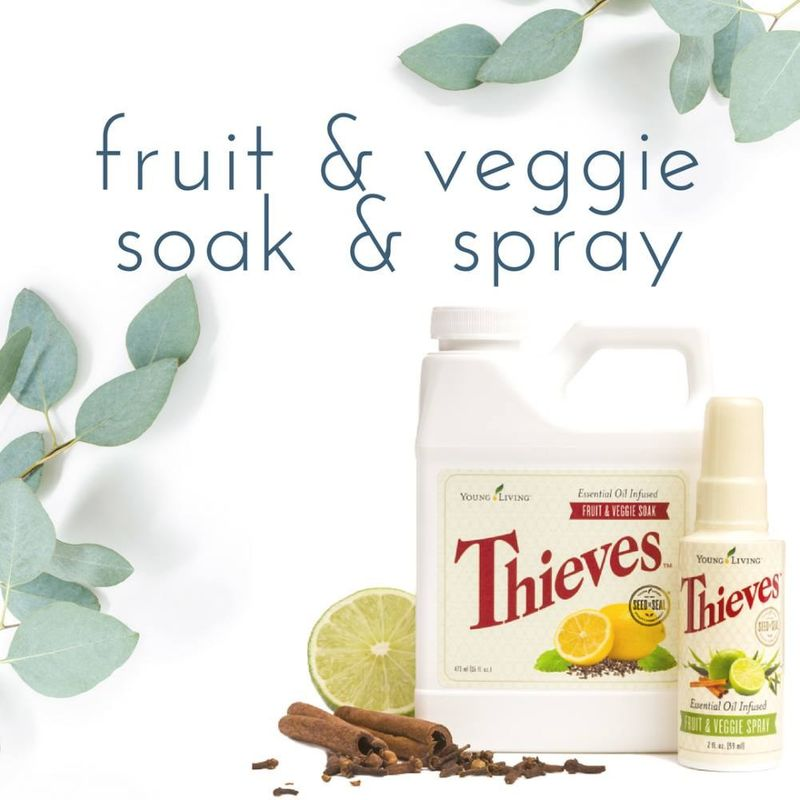 Chemical Free Fruit and Vegetable Wash