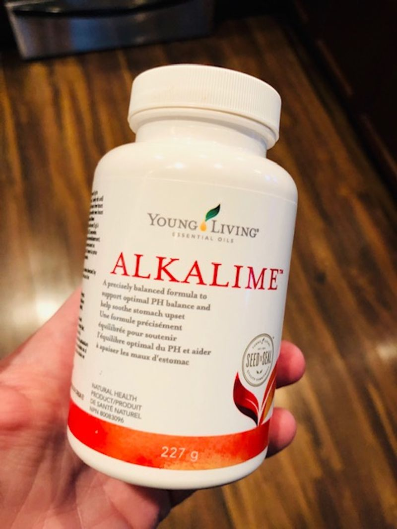 Young Living AlkaLime in the home