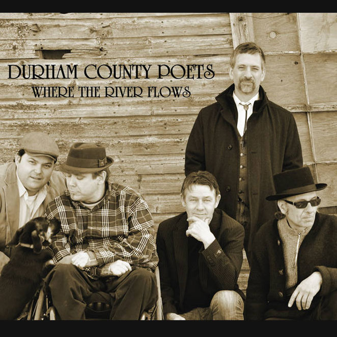 Durham County Poets - Where the River Flows, 2012My role: recording, production, mixing